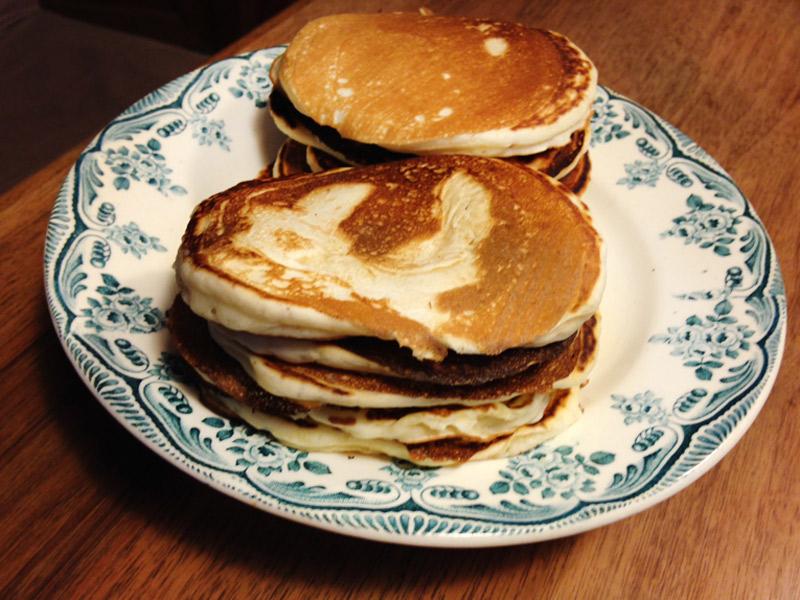 Des pancakes prêts en 10 minutes