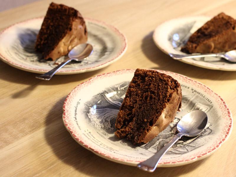 Le gâteau au yaourt touchoco des Tit Fées