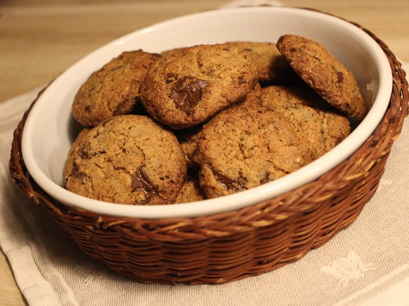 Cookies noisette chocolat