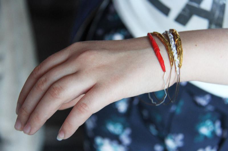Les bracelets de Maya
